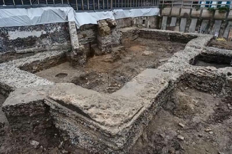 德國古城科隆挖出古羅馬時期的圖書館,至今已有約2千年的歷史(截自YouTube)
