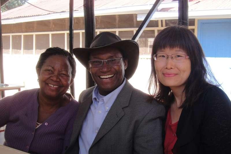 MCF的規模和穆利博士的付出,為他贏得不只非洲,更是國際聲望。(圖/謝幸吟提供)
