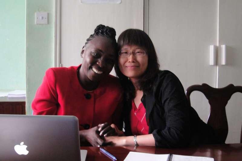 「我想回家,想貢獻肯亞」,就是這股想要給肯亞與她的人民更多機會的信念,讓她毅然決定走入NGO。(圖/謝幸吟提供)