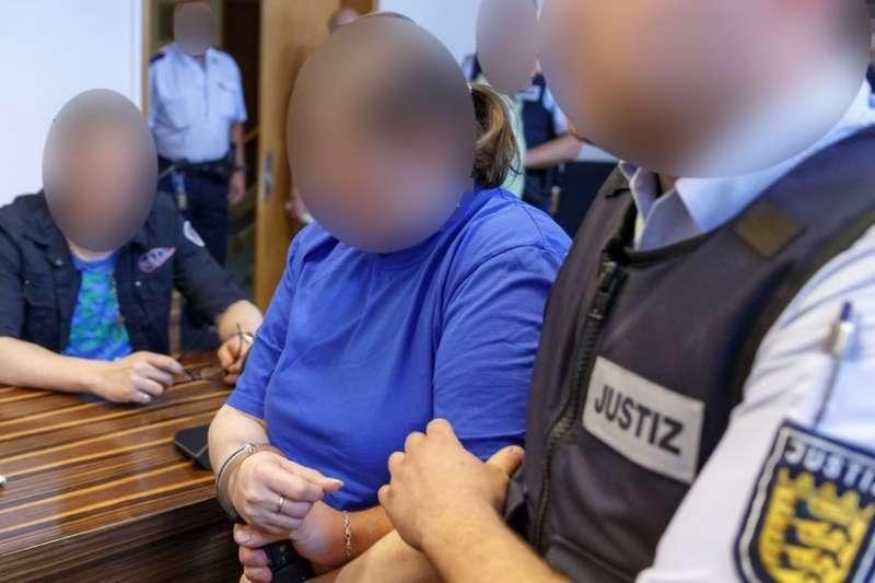 這起案件震驚了整個德國(由於法律問題,面部做模糊處理)。(BBC中文網)