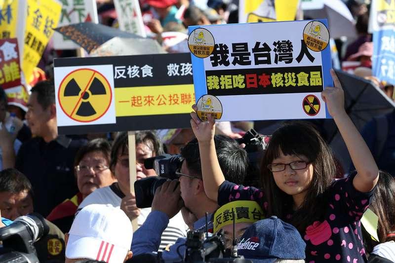 日本福島食品是CPTPP的門票,蔡總統必須要思考如何解決政治僵局。(郭晉瑋攝)