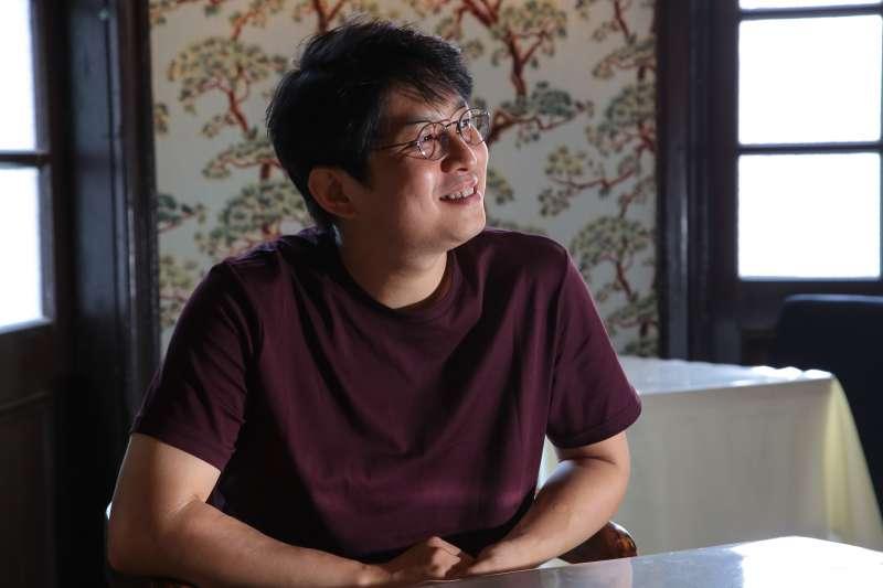 20180809-第20屆台北藝術節南韓藝術家 Jaha Koo 專訪。(顏麟宇攝)