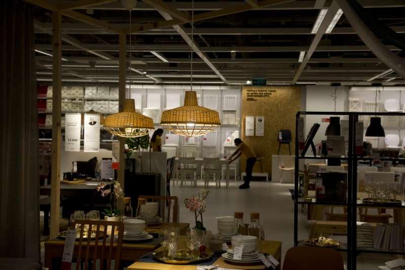 IKEA進軍印度,在南部科技大城海得拉巴開設首間分店。(美聯社)