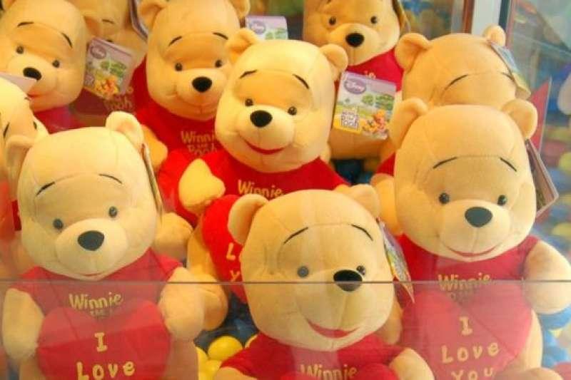 維尼熊問世近百年,深受兒童喜愛。(BBC中文網)