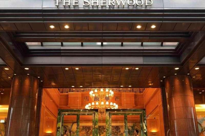 五星級飯店台北西華飯店也遭網友爆料網站上標示「中國台灣」。(取自西華飯店網站)
