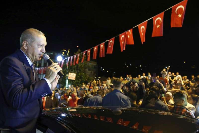 土耳其總統艾爾多安。(AP)