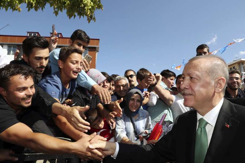 經濟政策是土耳其總統艾爾多安政權的重要支柱。(美聯社)