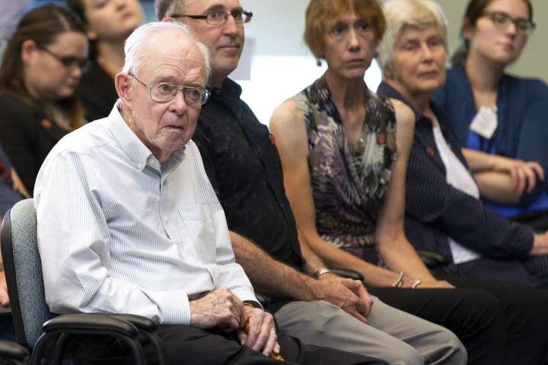 芝加哥大學名譽教授、天文學家尤金.帕克(Eugene Parker)。(AP)