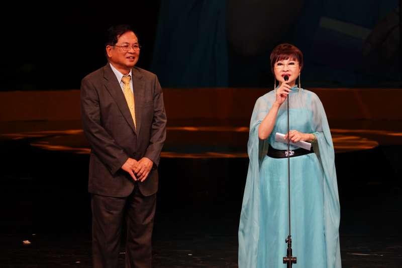 第29屆傳藝金曲獎的戲曲類特別獎得主為有「永遠的娘子」之稱的歌仔戲演員許秀年。(國立傳統藝術中心提供)