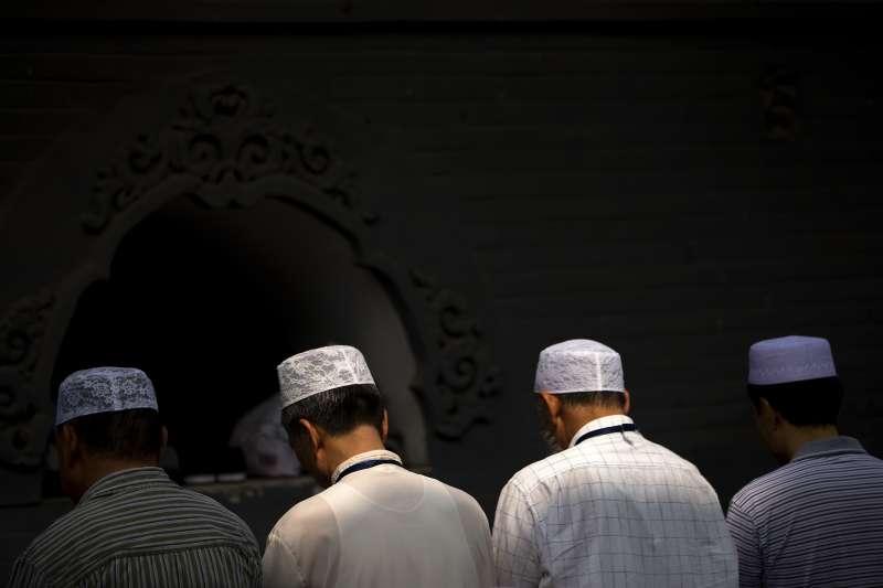 中國,穆斯林,清真寺(AP)