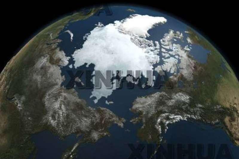 北極點周邊海域的海冰「未融先開」(新華社)