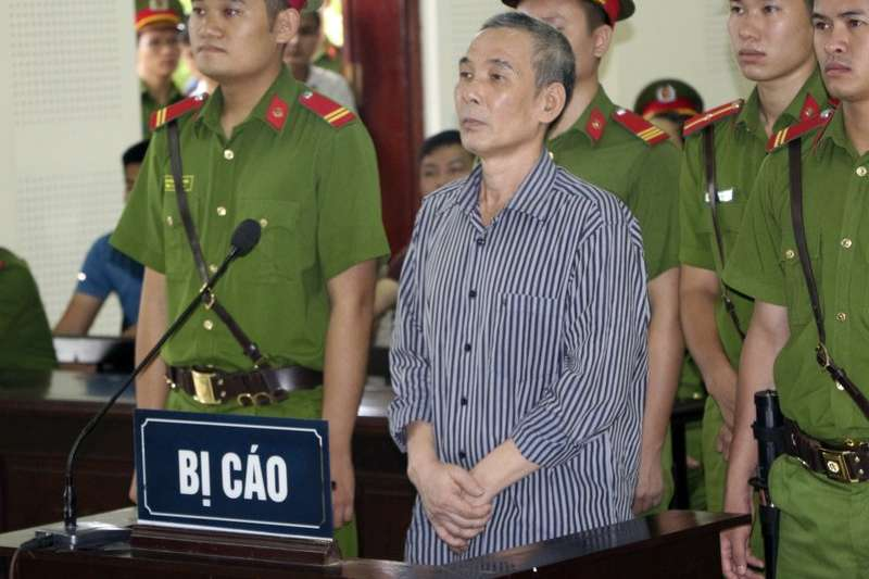 黎庭量8月16日出席聆聽判決,面容憔悴。(AP)