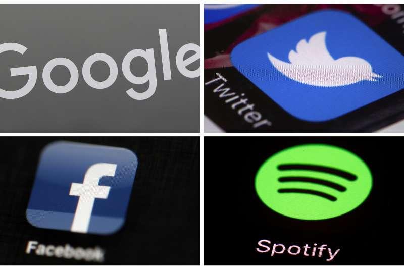 Google、twitter和Facebook都被中國政府拒於門外。(美聯社)