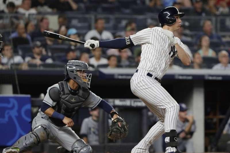 洋基柏德中斷球隊反攻氣勢淪為眾矢之的,賽後自責地表示:「這就是棒球,有時你越想要打出好表現,結果卻往往出乎意料的不盡理想。(美聯社)