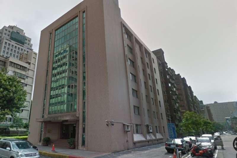 國民黨智庫「國家政策研究基金會」建築物大樓遭行政執行署查封。(取自Google Map)