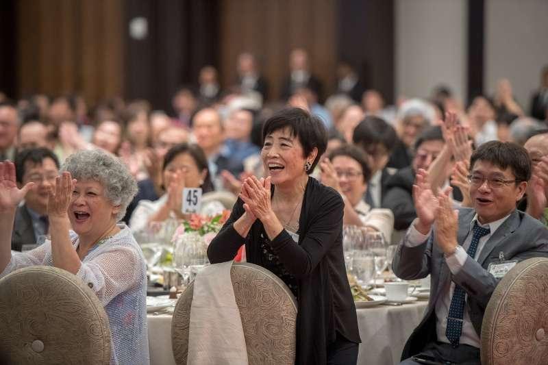 2018年8月18日,「同慶之旅」,蔡總統出席休士頓僑界晚宴(總統府)