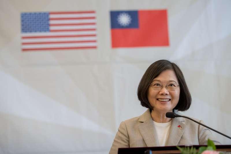 2018年《富比士》全球百大最有權勢女性名單出爐,台灣總統蔡英文第3年上榜,排名第40。(取自總統府)