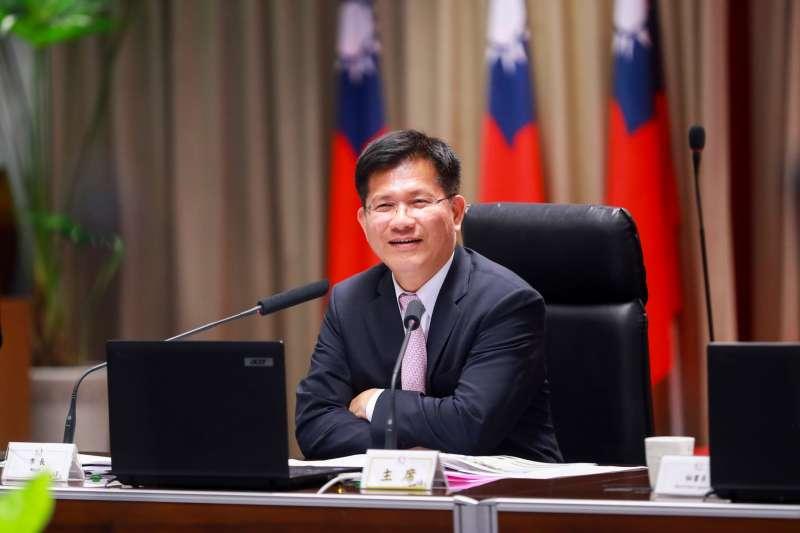 台中市長林佳龍希望透過智慧交通,達成人本、安全及綠色願景。(圖/台中市政府提供)