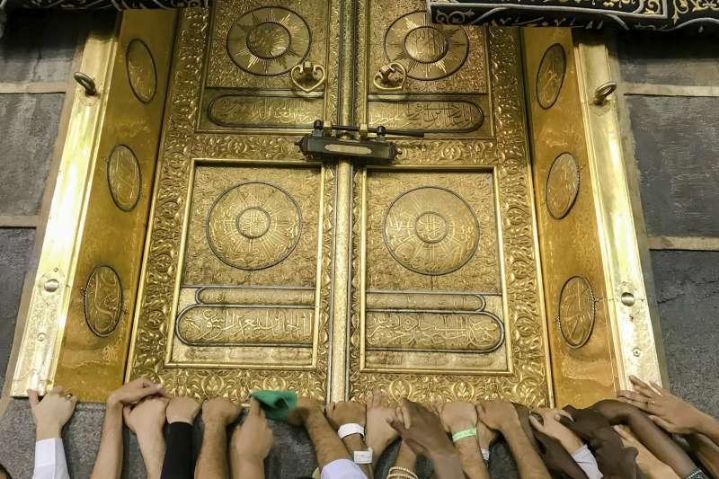 穆斯林聖地,麥加的天房。(美聯社)