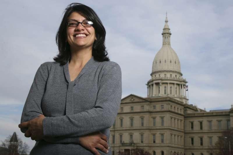 密西根州民主黨籍的特萊布將成為美國史上首位穆斯林女議員(美聯社)