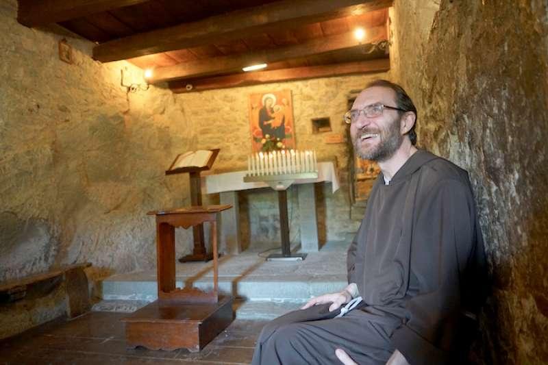 小室隱修院院長安東尼修士。(曾廣儀攝)