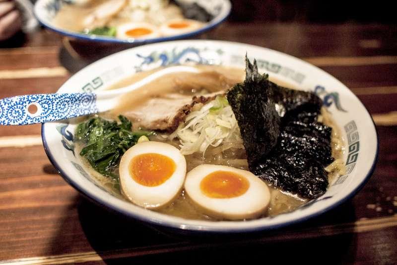 現在被認為是日本之光的拉麵,以前竟然叫清麵、支那麵?(Jonathan Lin@flickr)