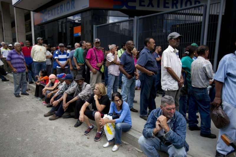 委內瑞拉民眾。(AP)