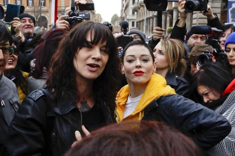 艾夏亞珍托(Asia Argento)及蘿絲麥高恩(Rose McGowan),是迅速響應#MeToo運動的核心人物之一。
