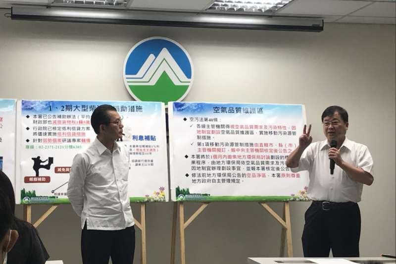 洪耀福提協助司機收購空汙貨車 李應元:增弱勢車主專案輔導-風傳媒