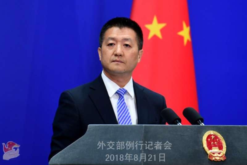 中國外交部發言人陸慷。