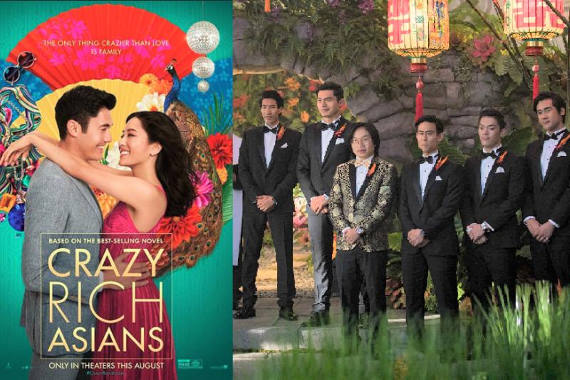 近期上映的《瘋狂亞洲富豪》,首週末就榮登北美票房冠軍,且捧場觀眾也反映多元文化組成,白人觀眾比例還超越亞裔。 (圖/圖右取自維基百科、圖左華納兄弟提供)