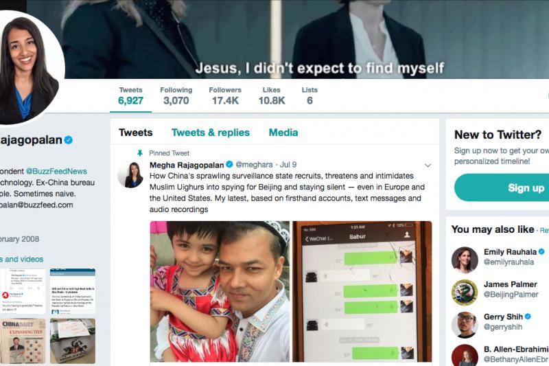 李香梅的推特上仍舊刊登著新疆管制措施的報導。(截自李香梅Twitter)