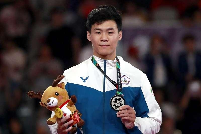 體操好手唐嘉鴻全運會個人包辦五面金牌。 (資料照,美聯社)