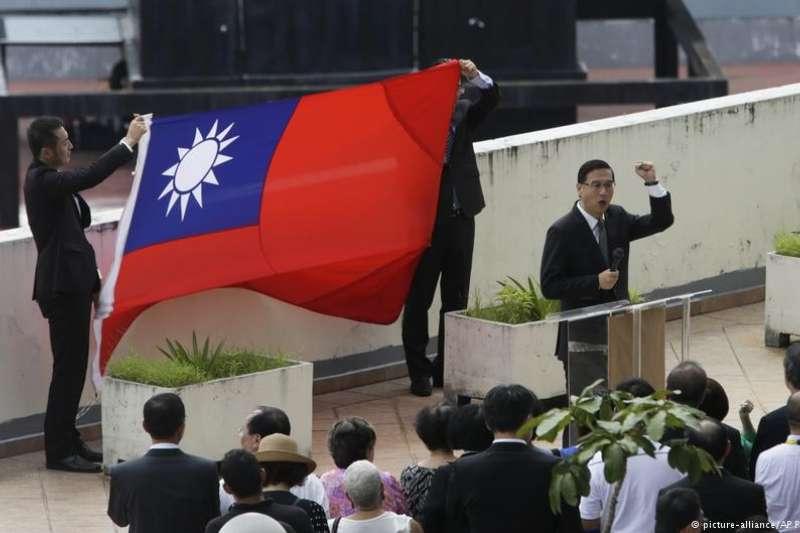 2017年,巴拿馬還沒與中華民國(台灣)斷交前,台灣駐當地使館活動升起青天白日旗。(德國之聲)