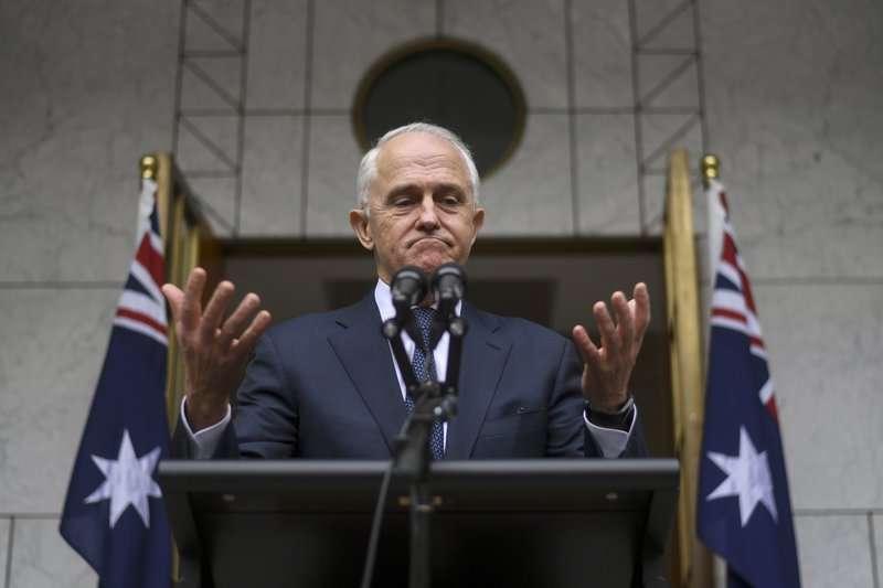 騰博24日黯然辭去澳洲總理職務。(美聯社)