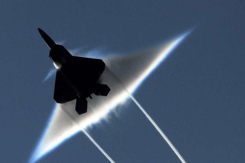 美軍F-22戰機。(美國海軍官網)