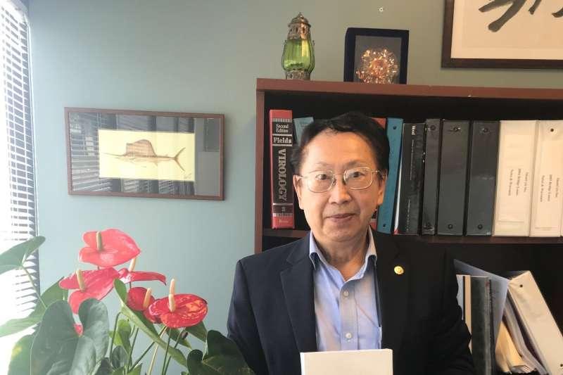 美商永生董事長王嘉宗博士運用專利技術,跨足面膜保養品市場。(圖/美商永生提供)