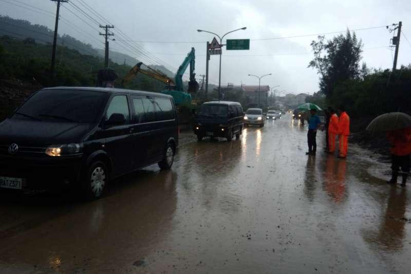 熱帶性低氣壓狂襲南台灣,豪雨造成嚴重災情。(屏東災害應變中心).JPG