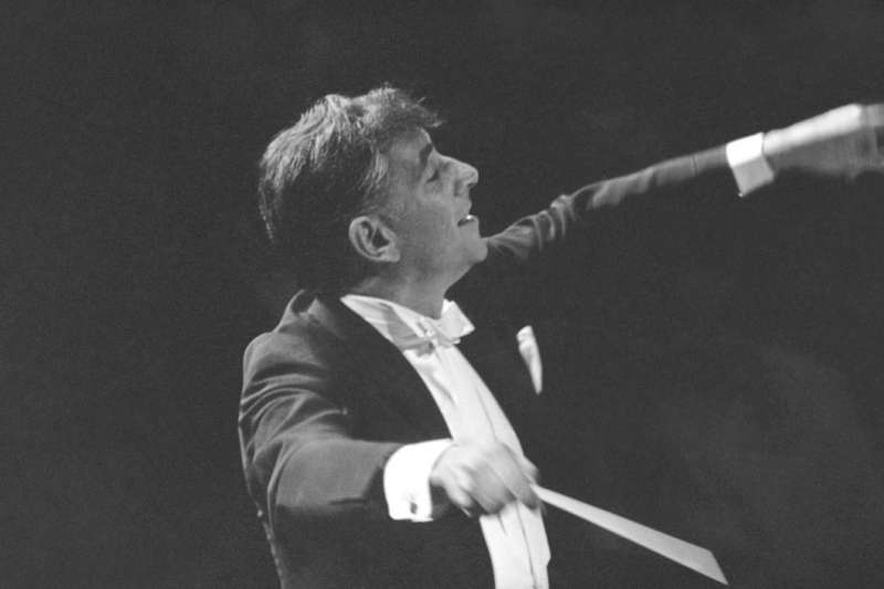 古典音樂指揮大師伯恩斯坦(Leonard Bernstein)(AP)