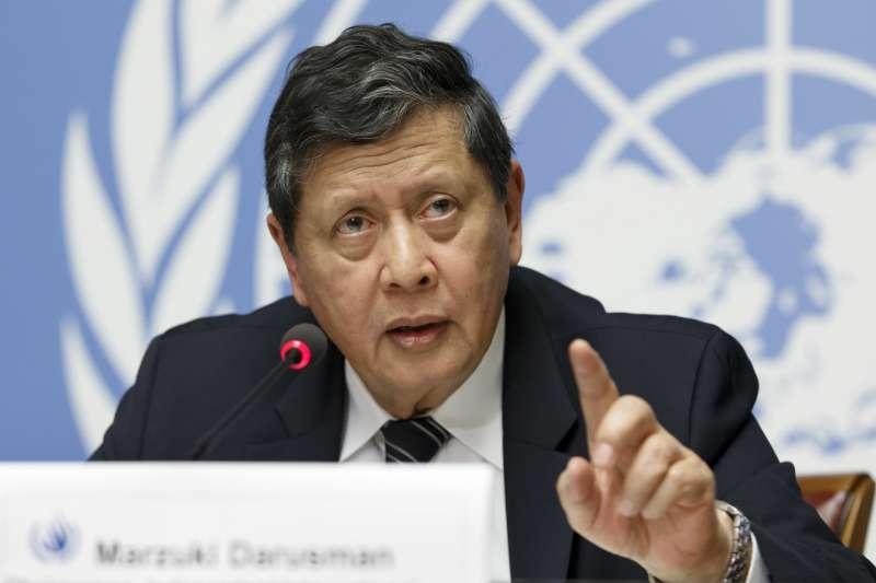 羅興亞危機1周年:聯合國緬甸事實查核團團長達魯斯曼(AP)