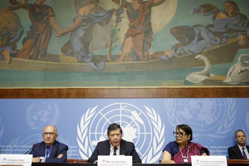 羅興亞危機1周年:聯合國緬甸事實查核團發布調查報告大綱(AP)