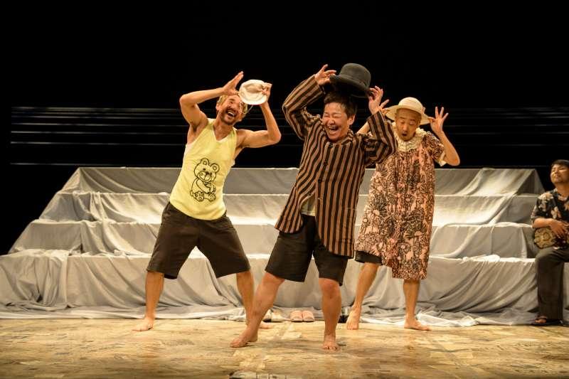 作品《海的孩子們》Children of the Ocean是鄭義信導演首部「非語言劇場 (Non-Verbal Performance)」作品。(圖/兩廳院提供)