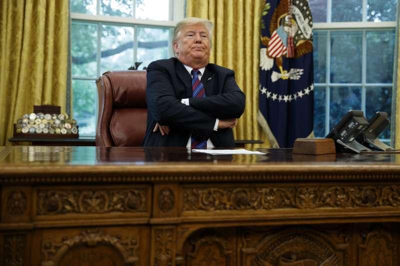 美國總統川普(AP)