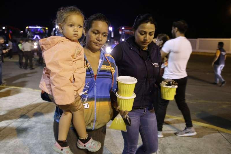 流落厄瓜多的委內瑞拉人(AP)
