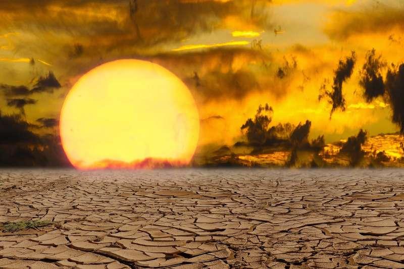 如果一個地方的氣溫超過50°C,當地死亡率可能上升(AP)