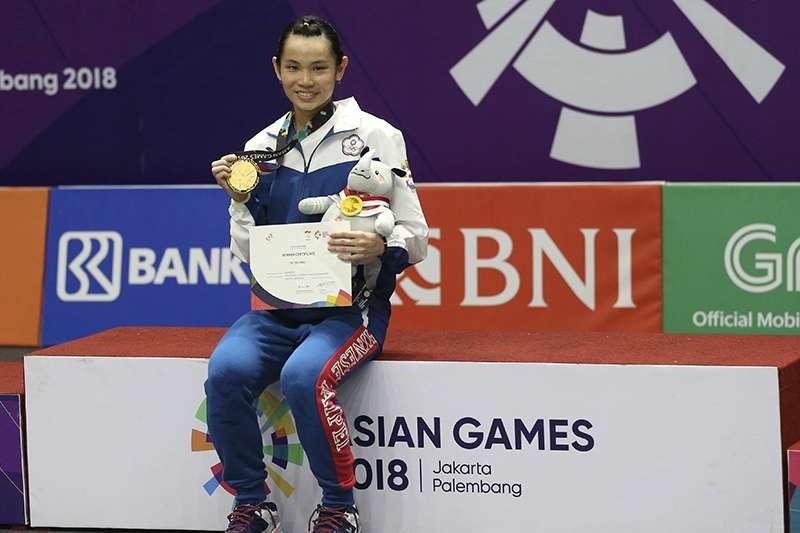 戴資穎在亞運拿下女單金牌,在最新的世界排名中仍然高居世界第1,不過小戴為避免連續4周出賽,因此缺席了9月底開打的南韓公開賽。(美聯社)