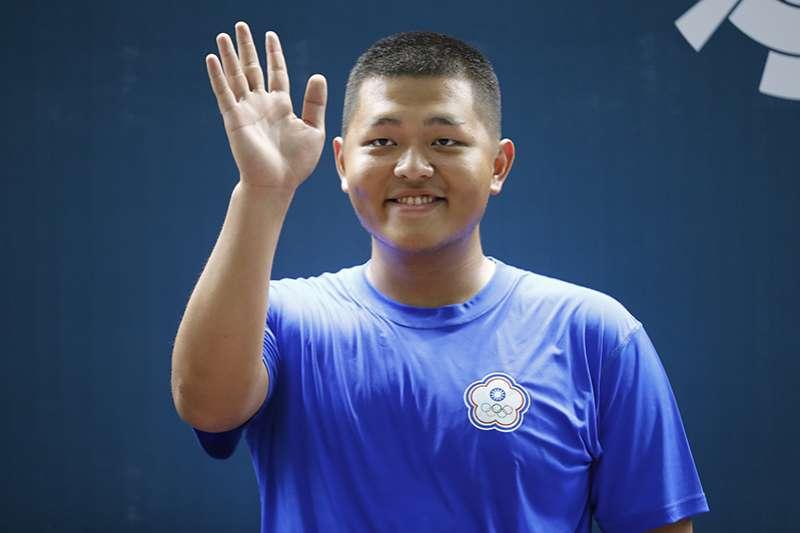 台灣不定向飛靶好手楊昆弼,挑戰 2020 東京奧運,原本 110 公斤的他進行減重,目前瘦至 96 公斤。(資料照,美聯社)
