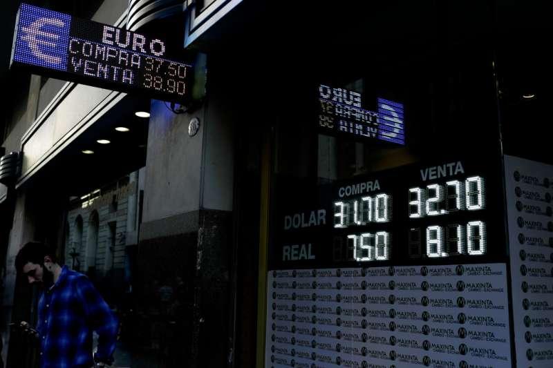 阿根廷披索貶值(AP)