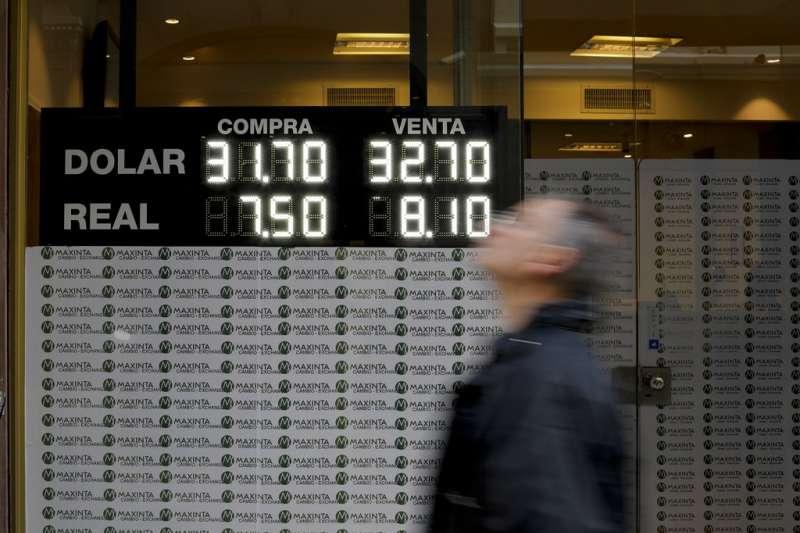 阿根廷披索連日重貶,阿根廷的經濟狀況也再次引起全球關注。(美聯社)