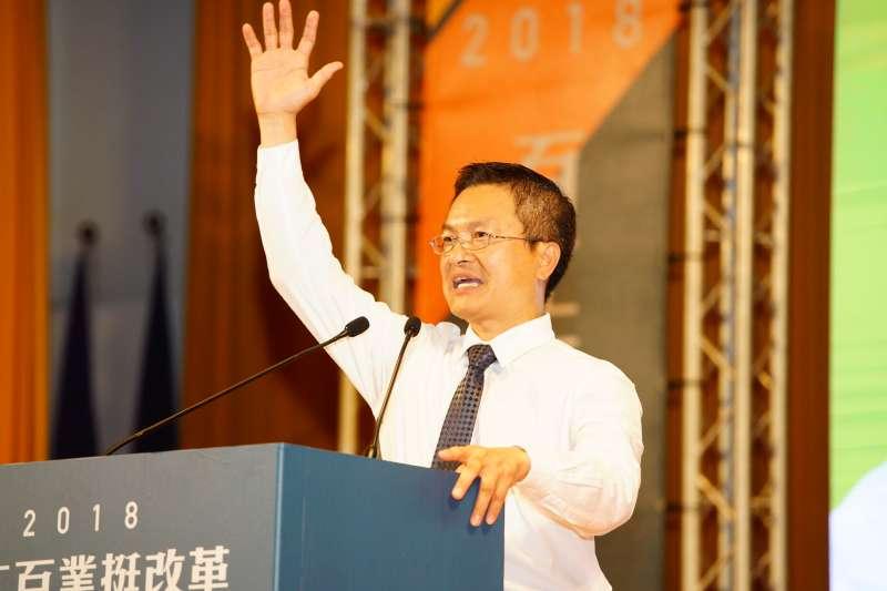 傳前彰化縣長魏明谷將接任台水董座,但消息未獲本人證實。(資料照,民進黨中央提供)